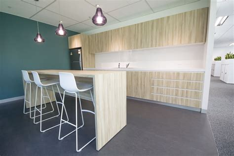 kitchens with office area gosiadesign