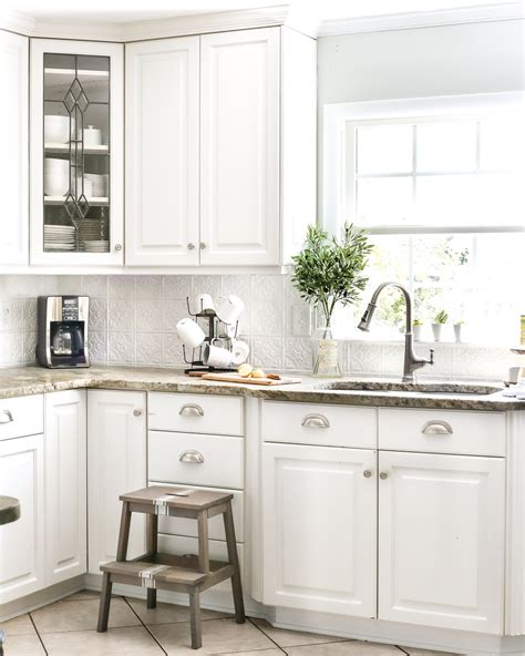 kitchen backsplash diy diy pressed tin kitchen backsplash bless er house