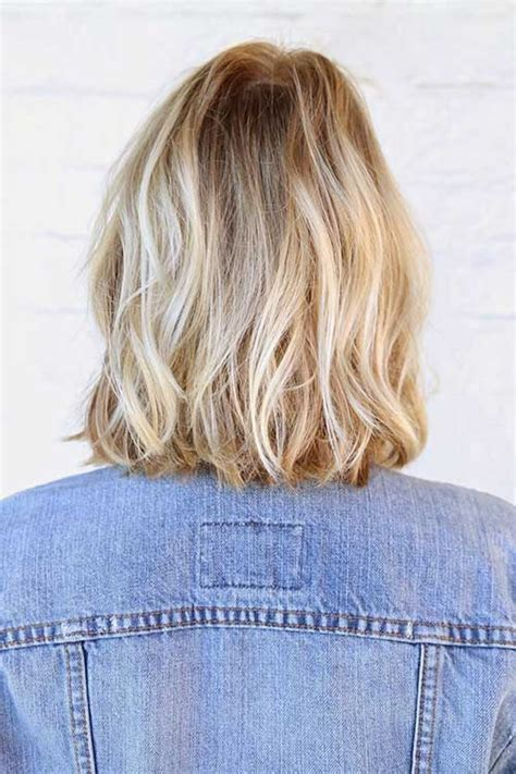 medium bob back of hair picture 20 long blonde bob bob hairstyles 2017 short