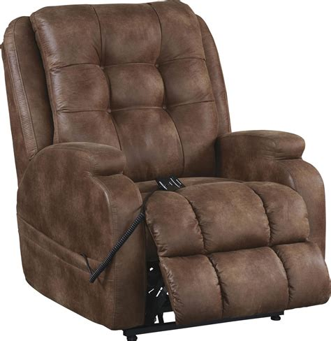 Reclining Lift Chairs by Jenson Almond Power Lift Recliner From Catnapper