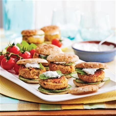 cuisine recettes pratiques mini burgers falafels recettes cuisine et nutrition