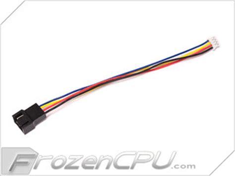 mini 4 pin gpu to 4 pin fan adapter 4 pin pwm male fan connector to 4 pin female mini gpu fan