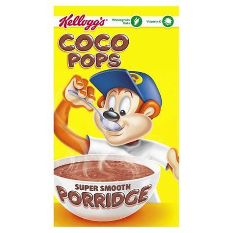 coco pops kelloggs coco pops porridge 189g groceries tesco groceries