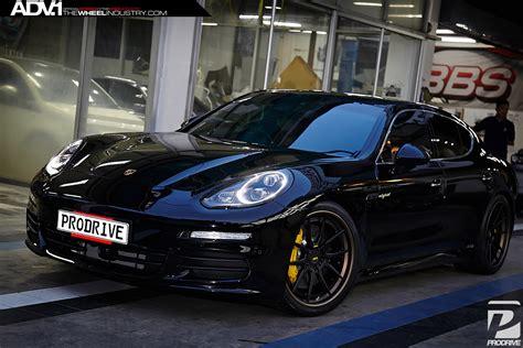 porsche panamera turbo matte black porsche panamera adv5 0 track spec cs wheels matte
