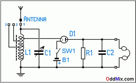how antenna diode works vacuum rf rectifier detector radio receiver hi fi signal quality