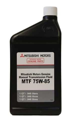 mitsubishi oem 75w 85 manual transmission fluid (1 quart