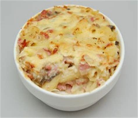 cheesy bacon pasta bake the resourceful cook