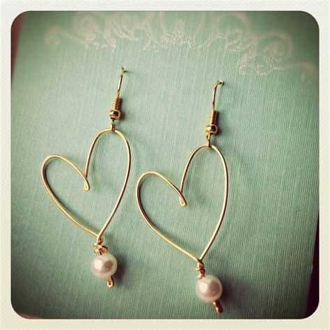Handmade Wire Earrings - handmade wire earrings