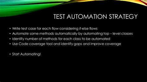test automation strategy document template advanced software test automation