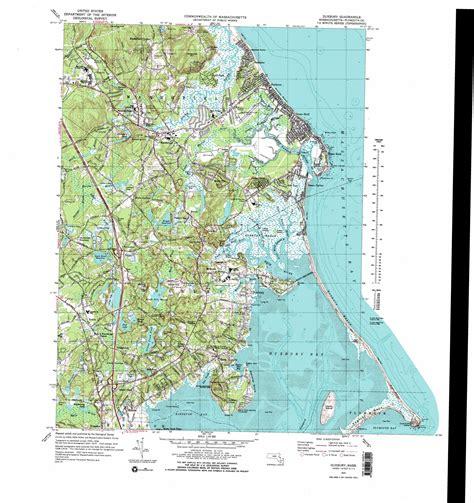 massachusetts physical map duxbury topographic map ma usgs topo 42070a6