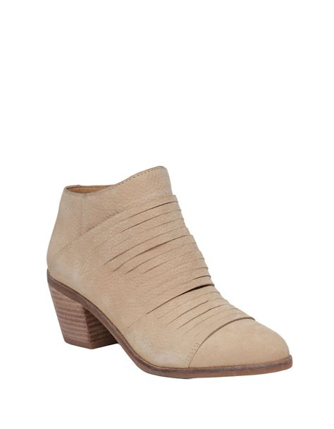 lucky brand mens boots lucky brand zavrina suede ankle boots in lyst