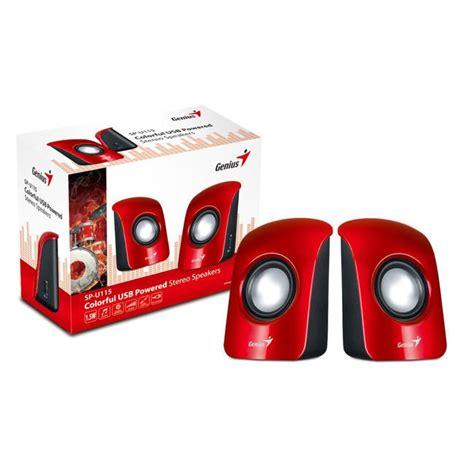 Stereo Usb Speaker Genius Colorful genius sp u115 usb powered speakers