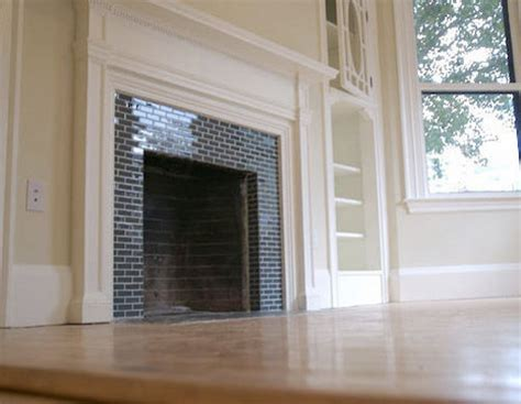 how to tile over a brick fireplace 187 curbly diy design