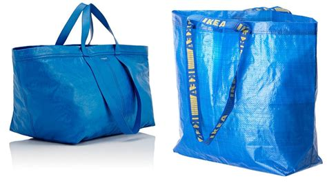 ikea bags balenciaga launches ikea esque blue bag for 163 1 670