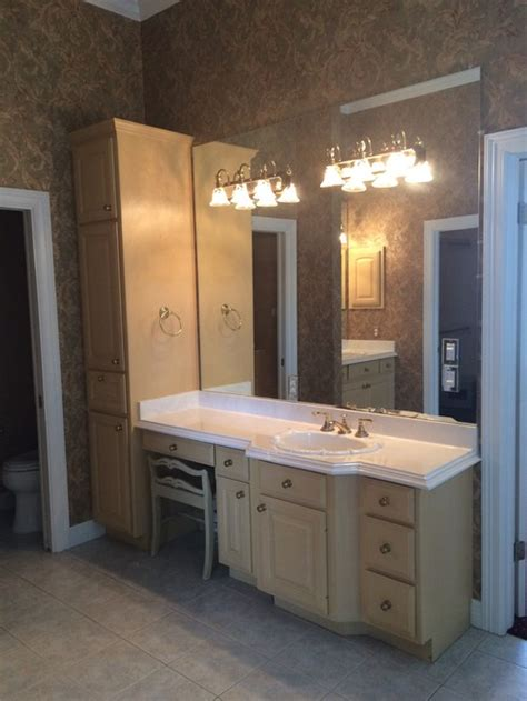 Bathroom Vanity Mirror Placement Vanity Mirror And Light Placement Separate Units