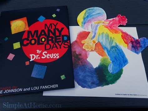 my many colored days invitation to create my many colored days by dr seuss