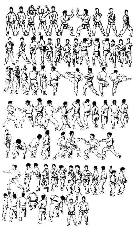jember kreasi koleksi gambar karate shotokan kata