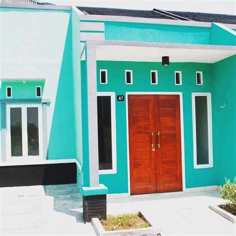 kombinasi warna cat rumah warna cat rumah minimalis tak depan hijau cat luar