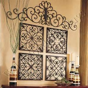 Iron Wall Decor by 25 Best Ideas About Large Metal Wall On