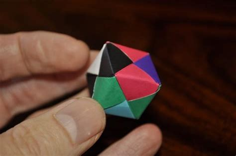 best photos of dodecahedron model small