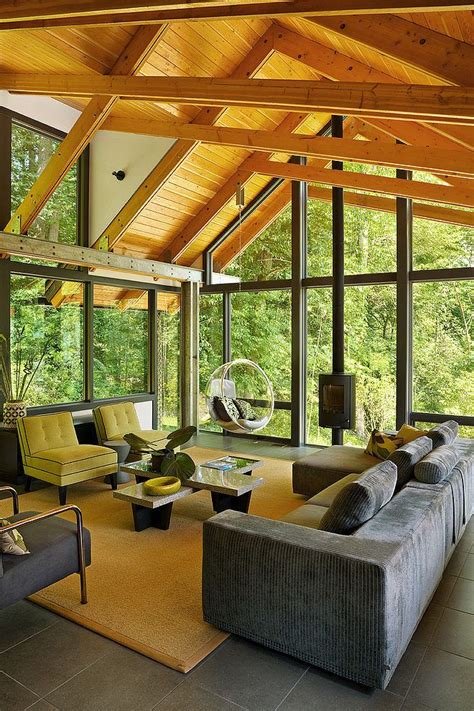 Wooden Sun Room Wooden Sun Room Interior Design Mag
