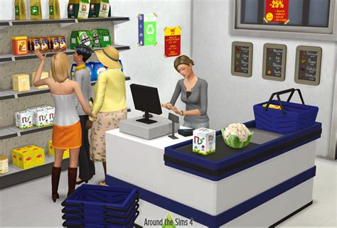 Ikea Bedroom Lamps Around The Sims 4 Custom Content Download Grocery