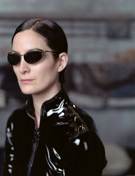 the matrix haircut model carrie anne moss wallpapers 6454
