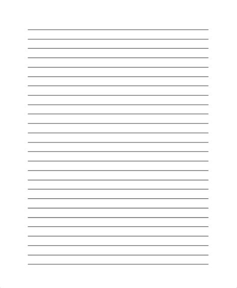 wide lined writing paper pin wide lined paper handwriting on