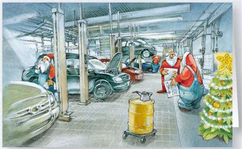 lustige werkstatt namen weihnachtskarte branchenkarte auto werkstatt kfz raw11940swl