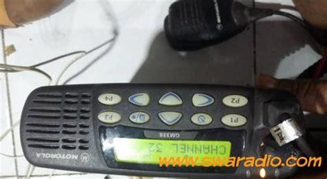 Rig Motorola Xir M3688 Vhf 45 Watt dijual rig motorola gm338 vhf tx 45 watt ada mik