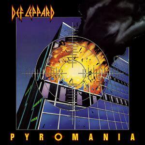 pyromania (album) wikipedia