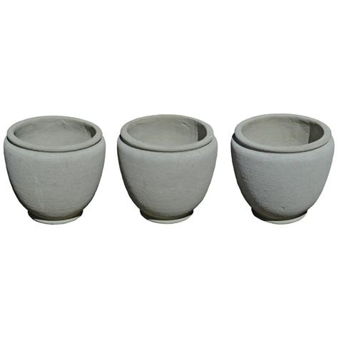 Concrete Urn Planters by Concrete Urn Planters For Sale At 1stdibs
