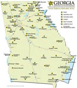 Georgia Map State by Georgia State Park Sites Map Tips And Tricks For The