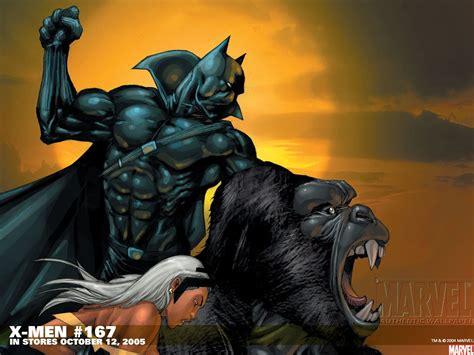 black xmen xmen men apes marvel comics black panther storm comics