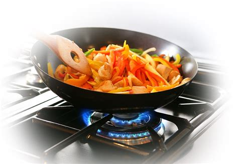 cooking food instant clean delicious gas cooking