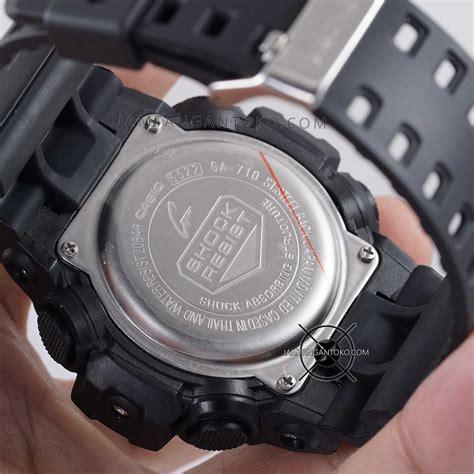 Jam G Shock Dw6900 Black White g shock ori bm ga 710 1a black silver bagian belakang