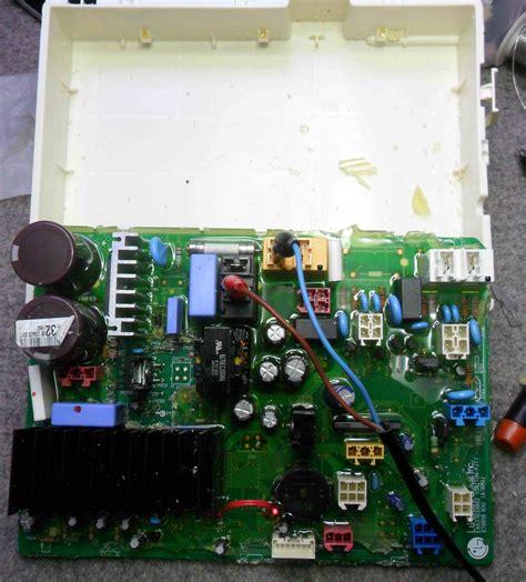 reparacion de tarjeta lavadora digital mabe fallas reparaci 243 n de tarjetas de lavadoras secadoras y neveras