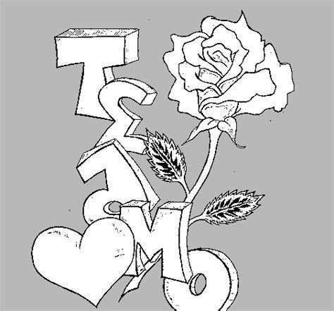 imagenes de amor para dibujar te amo grafitis de te amo para dibujar faciles imagui