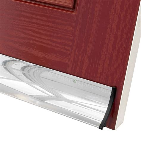 Exterior Door Weather Bar Stormguard Aluminium Deflector Door Weather Water Drip Bar 63mm Ebay