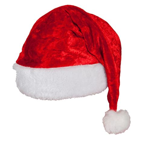 velvet santa claus hat adults fancy dress christmas men