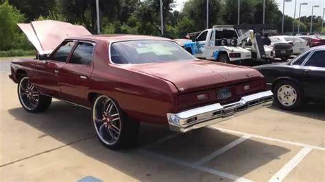 1973 chevy impala donk 1973 chevy impala donk for sale 10500 youtube
