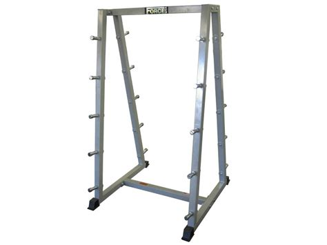 Barbell Rack by Barbell Rack Holds 10x Barbells Horizontal