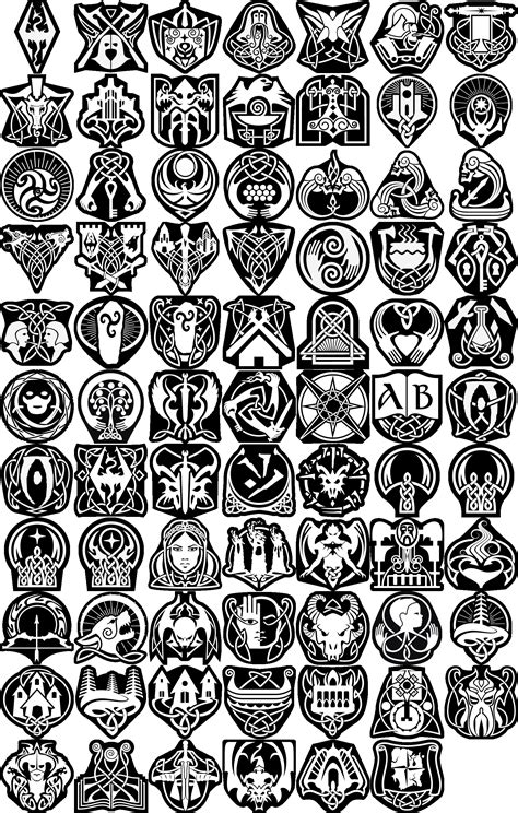achievement tattoo designs skyrim trophies the elder scrolls skyrim