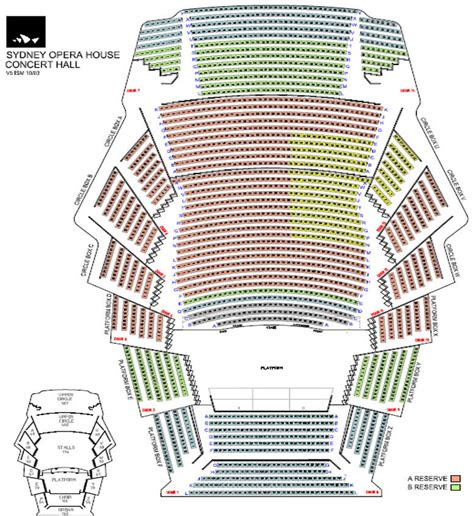 Opera House Seating Plan Images And Places Pictures And Info Sydney Opera House Concert Seating