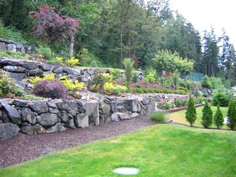 terracing a sloped backyard 44 best images about erica s backyard on pinterest tiered landscape backyards and