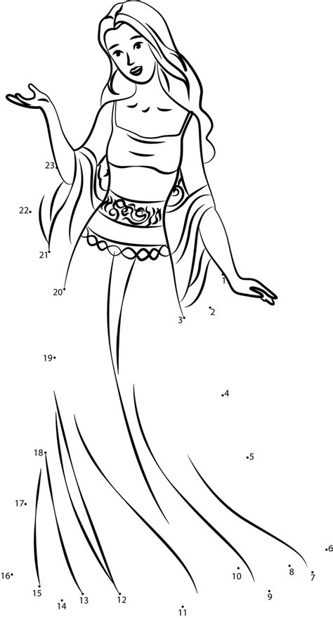 barbie printable dot to dot beautiful barbie dot to dot printable worksheet connect