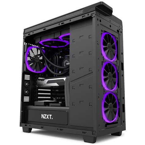 pc fan nzxt s aer rgb fans adds colors to your pc s casing