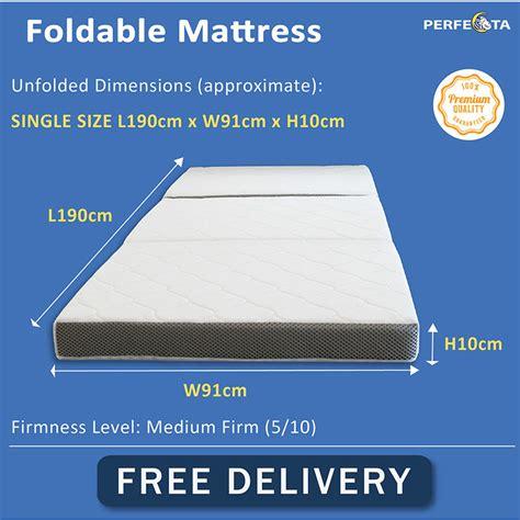foldable mattress foldable ultralight waterproof oxford