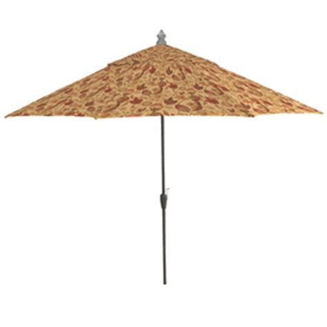 Patterned Patio Umbrellas Shop Arden Outdoor 11 Polyester Dearden Floral Patio Umbrella At Lowes