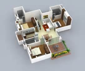 House Design Plans 3d 3 Bedrooms bedroom house plans 3d 3 bedroom house plans for